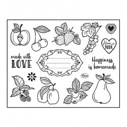(4003 217 00)Clear Stamps - Happiness is homemade