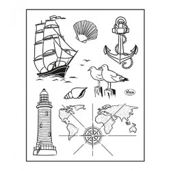 (4003 219 00)Clear Stamps - Seefahrt