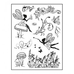 (4003 220 00)Clear Stamps - Elfen
