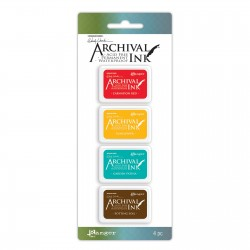 (AMDK57796)Ranger Wendy Vecchi mini archival ink pad kit 1