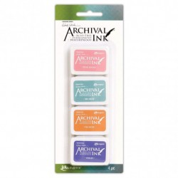 (AMDK58953)Ranger Wendy Vecchi mini archival ink pad kit 3