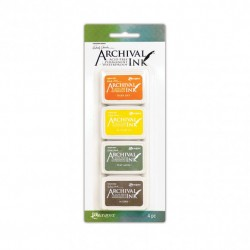 (AMDK64060)Ranger Wendy Vecchi mini archival ink pad kit 5