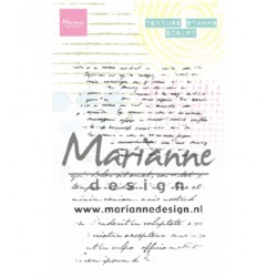 (MM1627)Stamp Texture stamps - Script