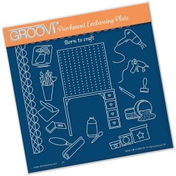 (GRO-OB-41476-03)Groovi Plate A5 Hobbies - Crafting