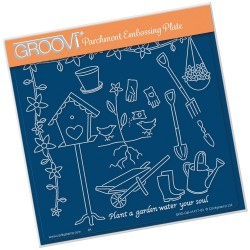 (GRO-OB-41477-03)Groovi Plate A5 Hobbies - Gardening