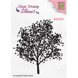 (SIL063)Nellie`s Choice Clearstamp - tree