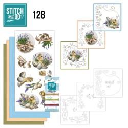 (STDO128)Stitch and Do 128 - Amy Design - Botanical Spring