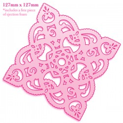 (CO723223)CC Doily Die Tatted Lace
