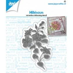 (6002/1435)Cutting embossing debossing dies Hibiscus
