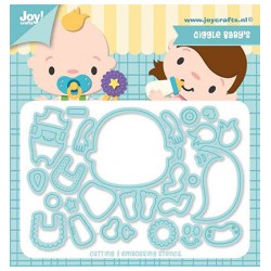 (6002/1450)Cutting dies Giggle Baby's
