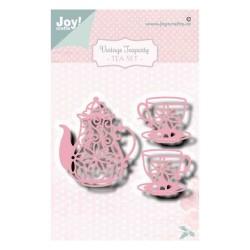 (6002/1470)Cutting dies Tea Set