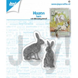 (6002/1484)Cutting embossing dies Hare