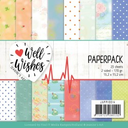 (JAPP10014)Paperpack - Jeanine's Art - Well Wishes