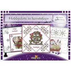 (HD089)Hobbydols 89 - Hobbydots in kerstsfeer
