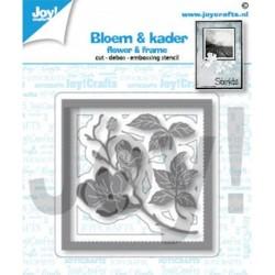 (6002/1451)Cutting embossing debossing dies flower & frame