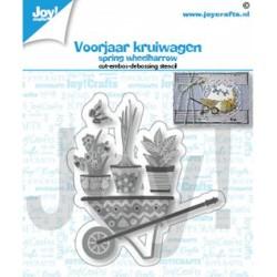(6002/1463)Cutting embossing debossing dies spring wheelbarrow