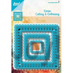 (6002/1466)Cutting embossing dies square