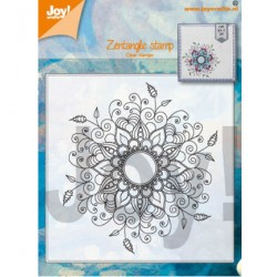 (6410/0527)Clear stamp Gerti - zentangle