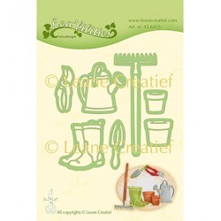 (45.6425)Lea'bilitie Cutting die Garden Set Watering can