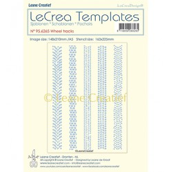 (95.6265)LeCrea Templates Wheel tracks
