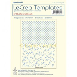 (95.6296)LeCrea Templates Small hearts
