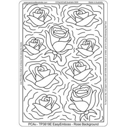 (PCA-DU3619E)PCA® Double Up Rose Background