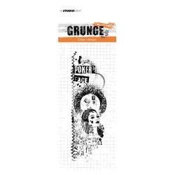 (STAMPSL344)Studio light Stamp Grunge Collection nr.344