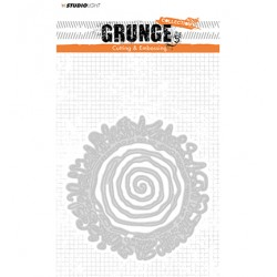(STENCILSL176)Studio Light Cutting and Embossing Die, Grunge Collection 2.0, nr.176