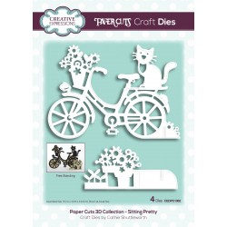 (CEDPC1062)Craft Dies - Paper cuts 3D sitting pretty