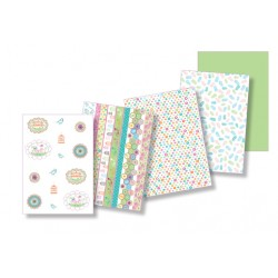 Pergamano Parchment paper collection Summer garden (62596)