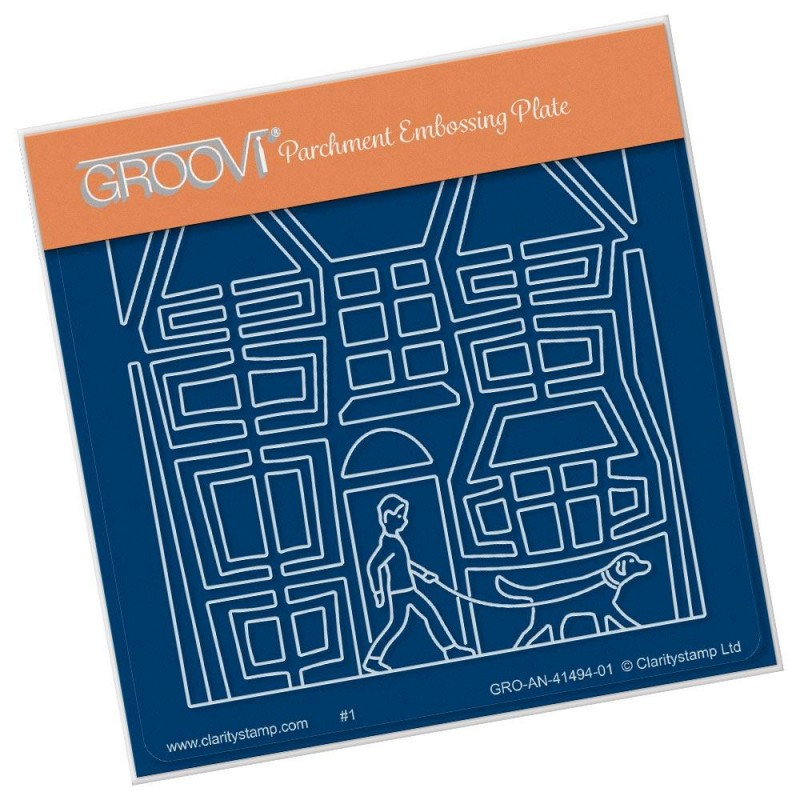 (GRO-AN-41494-01)Groovi® Baby plate A6 MY BEST FRIEND