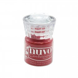 (619N)Tonic Studios Nuvo embossing powder sportscar red