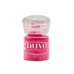(620N)Tonic Studios Nuvo embossing powder Strawberry Slush