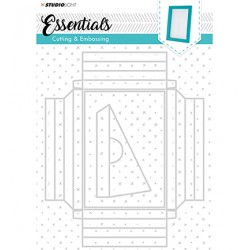 (STENCILSL209)Studio Light Cutting and Embossing Die, Essentials nr.209