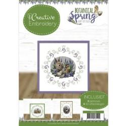 (CB10012)Creative Embroidery 12 - Amy Design - Botanical Spring