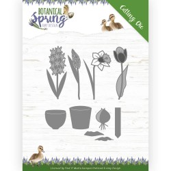 (ADD10199)Dies - Amy Design - Botanical Spring - Bulbs and flowers