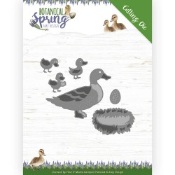 (ADD10201)Dies - Amy Design - Botanical Spring - Some Ducks