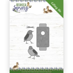 (ADD10202)Dies - Amy Design - Botanical Spring - Busy Birds