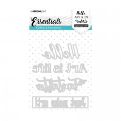 (STENCILSL266)Studio Light dies Essentials nr.266