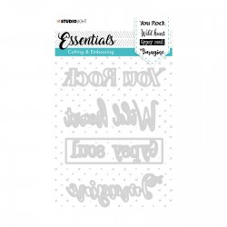 (STENCILSL268)Studio Light dies Essentials nr.268