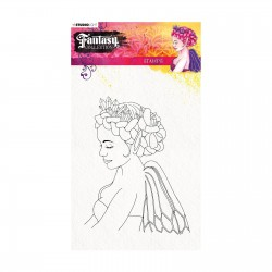 (STAMPFC440)Studio Light Clearstamp A5 Fantasy collection 2.0 nr.440