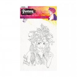 (STAMPFC442)Studio Light Clearstamp A5 Fantasy collection 2.0 nr.442