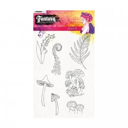 (STAMPFC444)Studio Light Clearstamp A5 Fantasy collection 2.0 nr.444