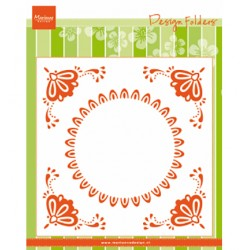 (DF3457)Marianne Design Folder Dutch tile