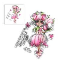 (PD8041)Polkadoodles Tulip Darling Bud Clear Stamps