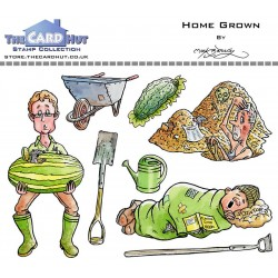(MBGSHG)The Card Hut Home Grown Clear Stamps
