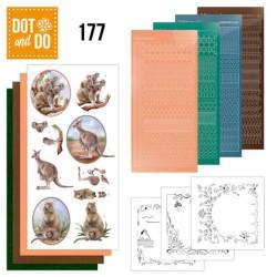 (DODO177)Dot and Do 177 Amy Design Wild Animals