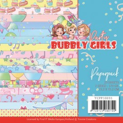 (YCPP10031)Paperpack - Yvonne Creations - Bubbly Girls - Party