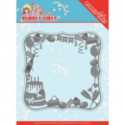 (YCD10200)Dies - Yvonne Creations - Bubbly Girls Party - Celebrations Frame
