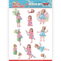 (SB10441)3D Pushout - Yvonne Creations - Bubbly Girls - Party - Party Time